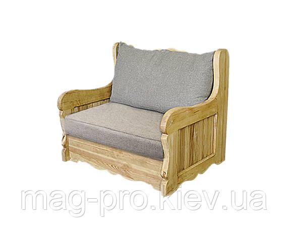 Кресло деревянное, сосна (натуральное дерево), фото 2
