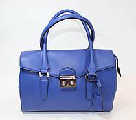 Элегантная синяя сумка David Jones