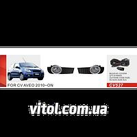 Фары дополнительные модель Chevrolet Aveo Hatchback/2010-12/CV-527W