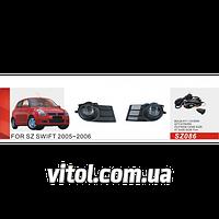 Фары дополнительные модель Suzuki Swift 2005-07/SZ-086W/эл.проводка