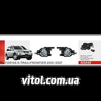 Фары дополнительные модель Nissan X-Trail 2005-2007/NS-048W/эл.проводка