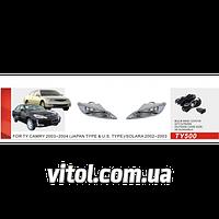 Фары дополнительные модель Toyota Camry 30 2003-2004/TY-500W/JAPAN/эл.проводка
