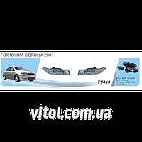 Фары дополнительные модель Toyota Corolla 2001, эл. проводка