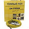 Теплый пол In-therm двужильный греющий кабель 550 Вт 3,2 м кв