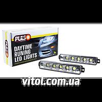Фары доп/дневного света LP-50100 DRL 5LED-HP/5W/12V/алюмин./170*30mm
