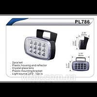 Фары доп/дневного света DLAA PL-786W/Led-12/пластик/96*55mm