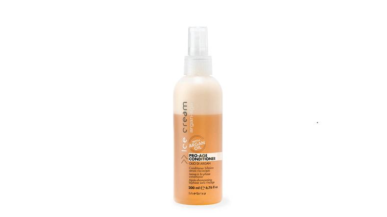 INEBRYA PRO-AGE ARGAN двухфазный кондиционер с аргановым маслом для окрашенных волос 200 мл.