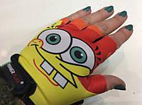 Перчатки для фитнеса BОВ детские Power Play без пальцев р. 3XS, ХS, S