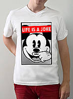 "Мужская футболка ""Life its a joke"""