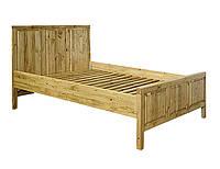 Кровать деревянная, сосна (натуральное дерево)