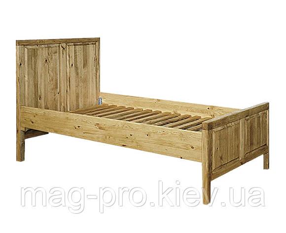 Кровать деревянная, сосна (натуральное дерево), фото 2
