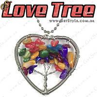 """Подвеска Древо жизни - """"Love Tree"""" + подарочный мешочек!, фото 1"""