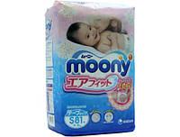 Подгузники Moony S (4-8 кг) - 81 шт.