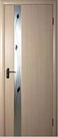 Дверное полотно Злата Р1 дуб жемчужный тм Новый стиль