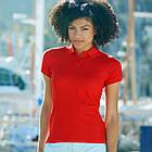 Женская футболка поло (Премиум)