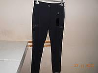 Брюки темно-синие с декоративными карманами, фото 1
