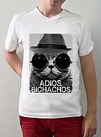 """Мужская футболка """"Adios bitchachos"""""""