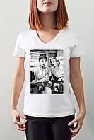 "Женская футболка ""Pinup girls"""