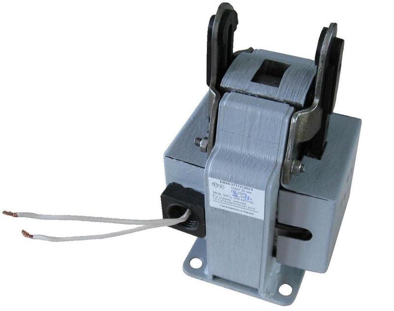 Электромагнит ЭМ 44-37-1361 толкающего и тянущего исполнения