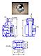 Электромагнит ЭМ 44-37-1361 толкающего и тянущего исполнения, фото 2