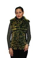 Жилет женский Oscar Fur 337 Зеленый, фото 1