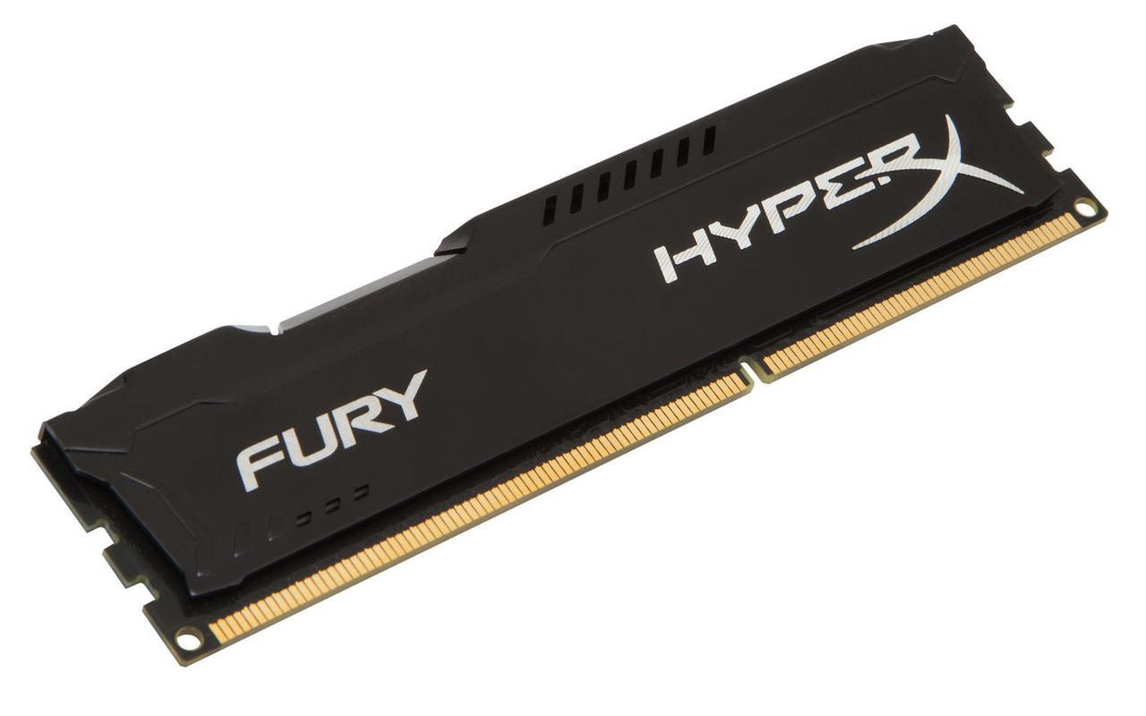 Оперативная память для компьютера 4Gb DDR3, 1866 MHz (PC3-14900), Kingston HyperX Fury Black, 10-11-10-30, 1.5