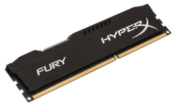 Оперативная память для компьютера 4Gb DDR3, 1866 MHz (PC3-14900), Kingston HyperX Fury Black, 10-11-10-30, 1.5, фото 2