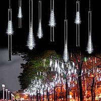 """Гирлянда метеоритный дождь """"Тающие сосульки"""" 70 см LED,белый"""