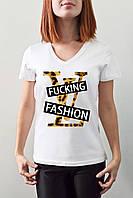 "Женская футболка ""Fucking fasion"""