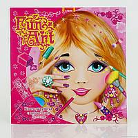 Fun Art. Make up. Книжка-розмальовка з чарівним блиском. (Книга 1)