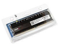 Память 4Gb DDR4, 2400 MHz, Avexir Core Original, 16-16-16-36, 1.2V, с радиатором, Yellow LED подсветка (AVD4UZ124001604G-1COY)