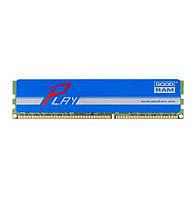 Память 8Gb DDR3, 1600 MHz (PC3-12800), Goodram Play Blue, 10-10-10-28, 1.5V, с радиатором (GYB1600D364L10/8G)