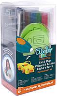 Набор аксессуаров для 3D-ручки - ТРАНСПОРТ (48 стержней, 2 шаблона) (3DS-DBK-VE)
