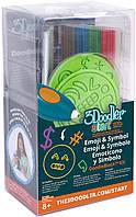 Набор аксессуаров для 3D-ручки - ЭМОДЖИ (48 стержней, 2 шаблона) (3DS-DBK-SY)
