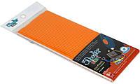 Набор стержней для 3D-ручки (оранжевый, 24 шт) (3DS-ECO06-ORANGE-24)