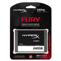 SSD 240Gb, Kingston HyperX Fury, SATA3, 2.5', MLC, 500/500 MB/s (SHFS37A/240G)