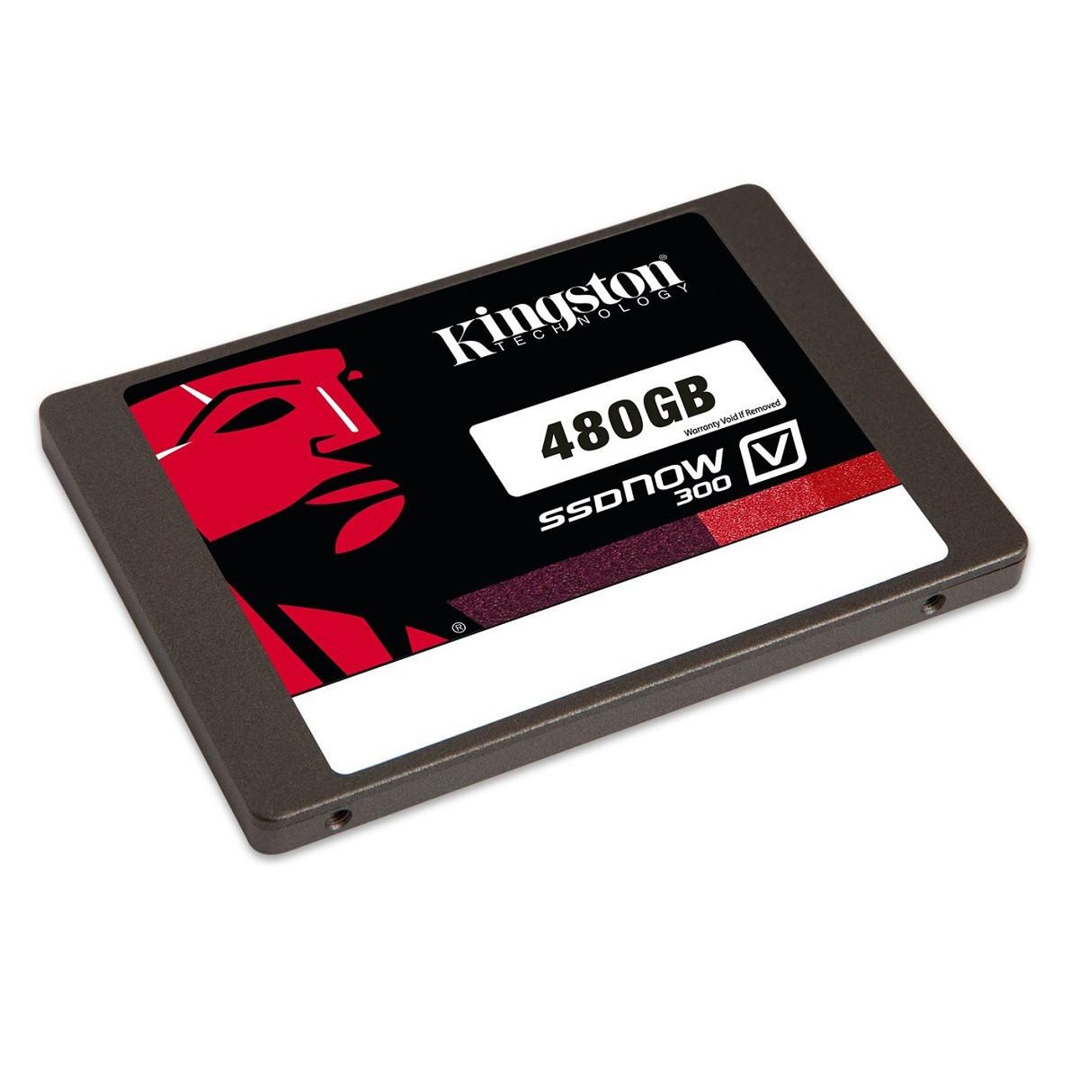 "SSD диск 480 Gb Kingston SSDNow V300, SATA 3, 2.5"", MLC, 450/450 MB/s  (SV300S37A/480G)"