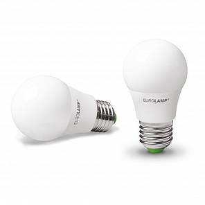 "Промо-набір EUROLAMP LED Лампа A50 7W E27 3000K акція ""1+1"", фото 2"