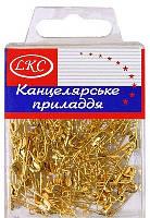 """Булавки английские """"LKC"""" 100 шт. золотистые №1028"""
