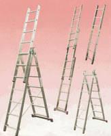 Трехсекционная лестница KRAUSE Corda 3x9