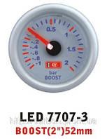 Тюнинговый автомобильный прибор Ket Gauge LED 7707-3 давление турбины