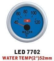 Тюнинговый автомобильный прибор Ket Gauge LED 7702 температура воды