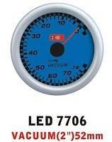 Тюнинговый автомобильный прибор Ket Gauge LED 7706 вакуум