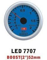 Тюнинговый автомобильный прибор Ket Gauge LED 7707 давление турбины