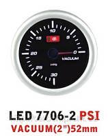 Тюнинговый автомобильный прибор Ket Gauge LED 7706-2 вакуум