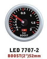 Тюнинговый автомобильный прибор Ket Gauge LED 7707-2 давление турбины