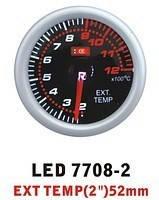 Тюнинговый автомобильный прибор Ket Gauge LED 7708-2 температура выхлопных газов EGT