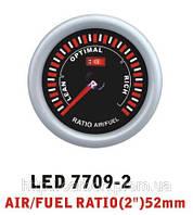 Тюнинговый автомобильный прибор Ket Gauge LED 7709-2 экономайзер Air Fuel состав смеси