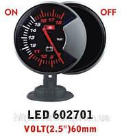 Тюнинговый автомобильный прибор Ket Gauge LED 602701 вольтметр