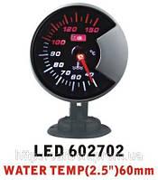 Тюнинговый автомобильный прибор Ket Gauge LED 602702 температура воды